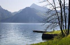 Traunsee - austria Stock Photo