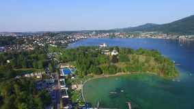 Traunsee, Austria stock video