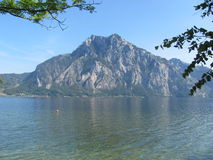 Traunsee, Autriche Photos stock