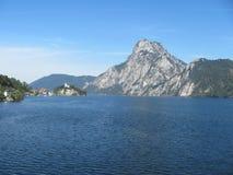 Traunsee, Autriche Image libre de droits