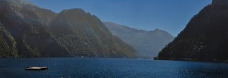 Traunsee jezioro fotografia stock