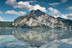 Traunsee lake in Austria Stock Photo