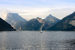 Traunsee  lake Stock Images
