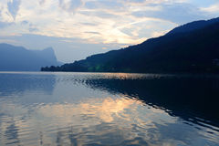 Traunsee  lake Royalty Free Stock Photography
