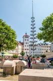 Traunstein Stadtplatz Stock Images