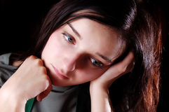Traurig Lizenzfreies Stockfoto