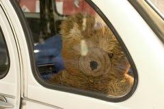 Traurig Teddybär-tragen Sie Stockfoto