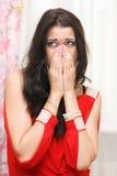 Traurige Frau Lizenzfreies Stockfoto