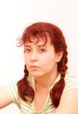 Traurige Frau Lizenzfreies Stockbild