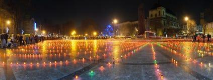 Traurige Kerzen Stockbilder