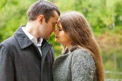 Traurige Paare lizenzfreie stockbilder
