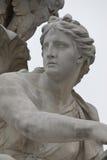 Traurige Statue Stockbild