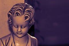 Traurige Statue lizenzfreie stockbilder