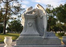 Trauriger Angel Headstone lizenzfreies stockfoto