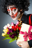 Trauriger Clown Lizenzfreies Stockbild