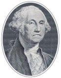 Trauriger George Washington Stockfotos