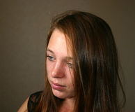 Trauriger Jugendlicher Stockbild