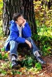 Trauriger Jugendlicher Stockfotografie