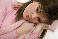 Trauriger Jugendlicher Lizenzfreies Stockfoto