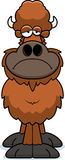 Trauriger Karikatur-Büffel Lizenzfreies Stockbild