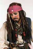 Trauriger Pirat stockfotografie