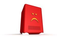 Trauriger Server Stockfotos
