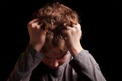 Trauriger Teenager Stockfotografie