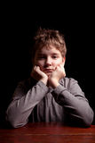 Trauriger Teenager Lizenzfreies Stockfoto