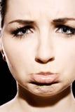 Trauriges Gesicht Lizenzfreie Stockbilder