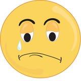 Trauriges Gesicht Lizenzfreies Stockbild