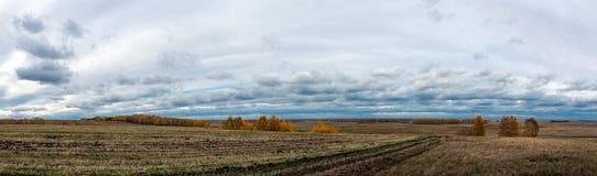 Trauriges Herbstwetter Stockfotografie