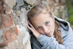 Trauriges Kind Lizenzfreie Stockbilder