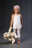 Trauriges kleines Mädchen Lizenzfreie Stockbilder