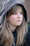 Trauriges Mädchen Stockbild