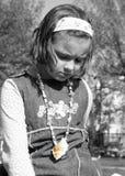 Trauriges Mädchen Stockfotos