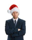 Trauriges Weihnachten Lizenzfreies Stockfoto