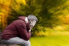 traurigkeit Stockbild