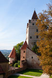 Trausnitz Castle Stock Photo