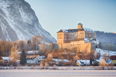 Trautenfels castle close to Stainach Irdning in Ennstal Stock Photo
