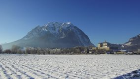 Trautenfels and Grimming in Austria stock video footage