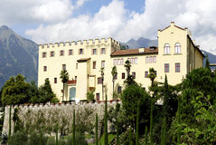 Trauttmansdorff Castle σε Merano στοκ εικόνες