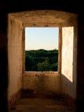 A través de la ventana Foto de archivo libre de regalías