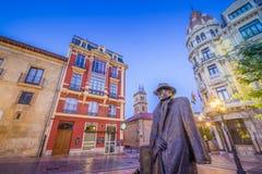 A través de las calles de Oviedo Imágenes de archivo libres de regalías