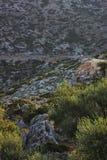 A través de las rocas fotografía de archivo