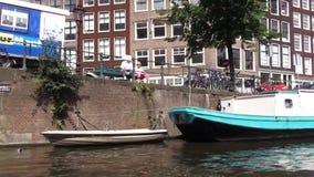 A través de los canales de Amsterdam
