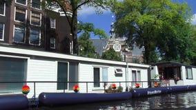 A través de los canales de Amsterdam almacen de video