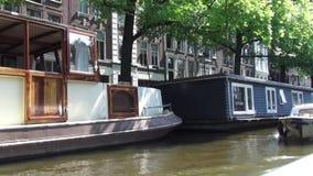 A través de los canales de Amsterdam metrajes