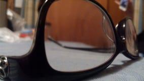 A través de los vidrios Foto de archivo
