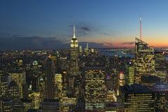 A través de Nueva York fotografía de archivo libre de regalías