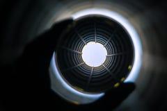 A través de una bola de cristal Fotografía de archivo libre de regalías